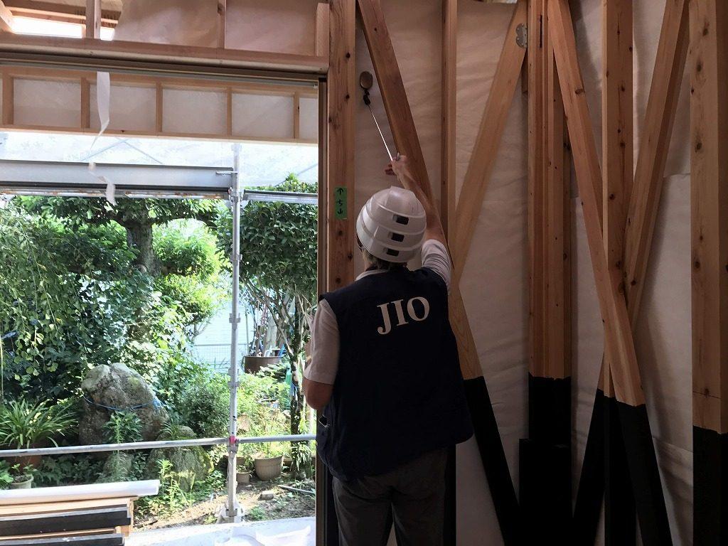 上益城郡益城町 W様邸 木部ヘルスコキュア塗装・金物検査