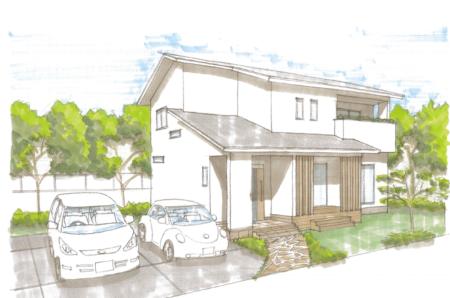 2月8日・9日(土・日)15日・16日(土・日) 宇城市松橋町にて、耐震等級3・断熱等級4・省エネ等級5の長期優良認定住宅 ゼロエネルギー住宅  完全予約制 完成現場見学会を開催致します。