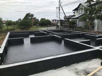 宇土市 K様邸 基礎アンダープロテクト塗装